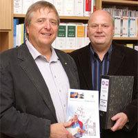 Lothar Flick und Hans-Werner Hüwel